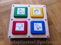 adaptiertes Spielzeug