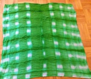 gleichmäßiges Muster batiken