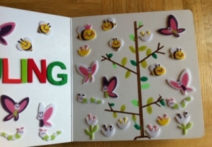 DIY Jahreszeiten Fühl Buch (3)