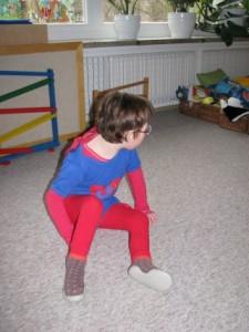 Superheld Verkleidung
