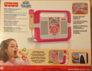 Fisher Price MP3 Player Kid Tough