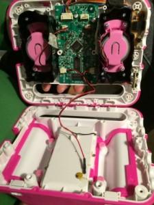 MP3-Player geöffnet