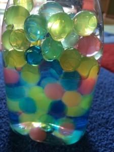 Aquaperlen Sensorikflasche